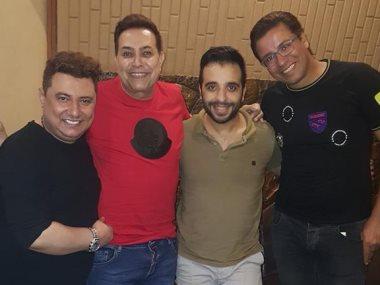 حكيم وأشرف البرنس ومصطفى حسن ومحمد عبد المنعم