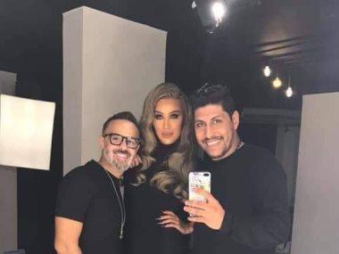 حمدى بدر ومايا دياب