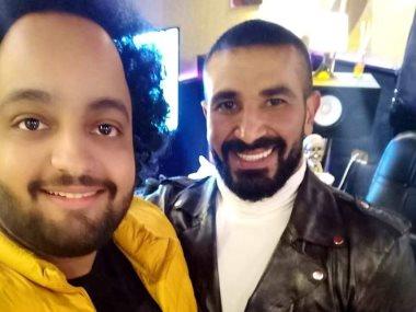 أحمد سعد و عمرو الخضرى