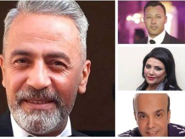 صبري فواز وسليمان عيد وبدرية طلبة وأحمد فهمي