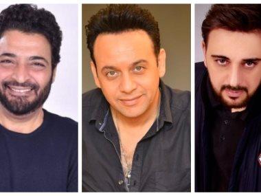 مصطفي قمر ومحمد جمعة وحميد الشاعري