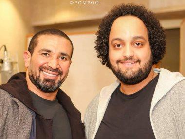 أحمد سعد والموزع الموسيقي عمرو الخضري