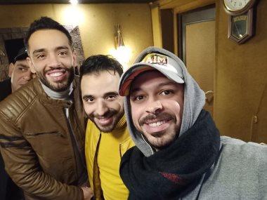 رامى جمال ومصطفي حسن وبلال سرور