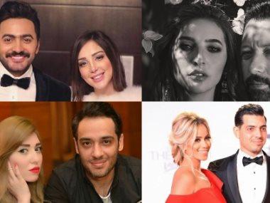 تامر حسني ورامى جمال وطارق عبد الجابر  وأحمد فهمى