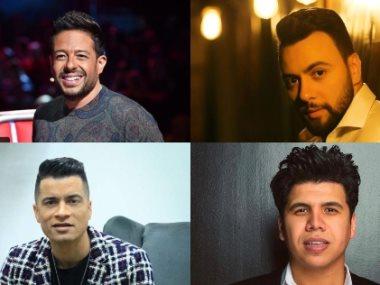 محمد حماقي ومدين وحسن شاكوش وعمر كمال