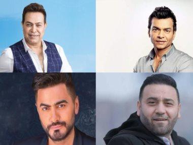 حكيم ومحمد محيى وتامر حسني و مجد القاسم
