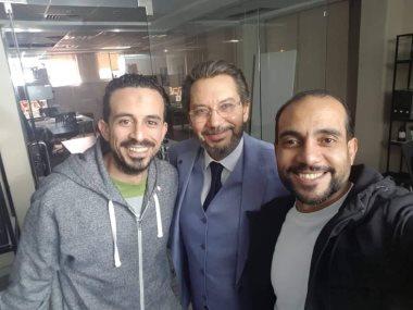 كمال أبورية ومؤلف محمد محرز ومخرج محمد أسامة