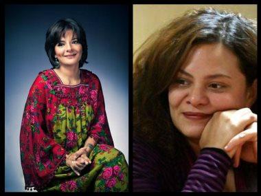 المخرجة كاملة أبو ذكرى والمؤلفة مريم نعوم