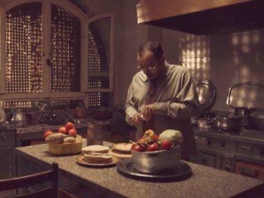 مشهد من مسلسل زلزال