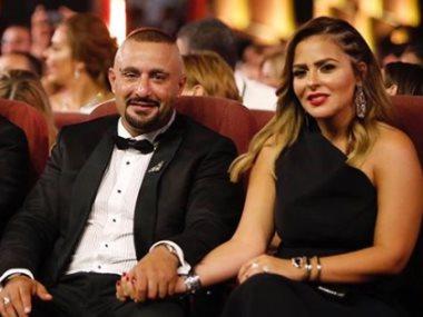 احمد السقا وزوجته مها الصغير