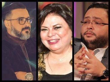 احمد رزق وماجدة زكى ومحمد رجب