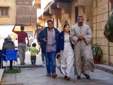 ياسر جلال وليلى أحمد زاهر فى الفتوة