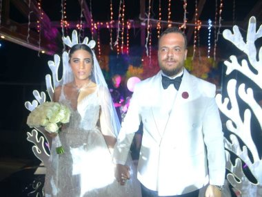 حفل زفاف نجل ماجد المصرى