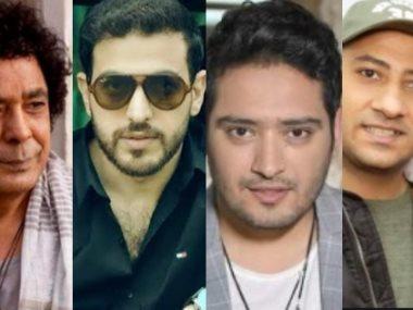 محمد منير وأحمد حسن راؤول واحمد زعيم ووسام عبدالمنعم