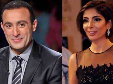 منى زكى و أحمد السقا