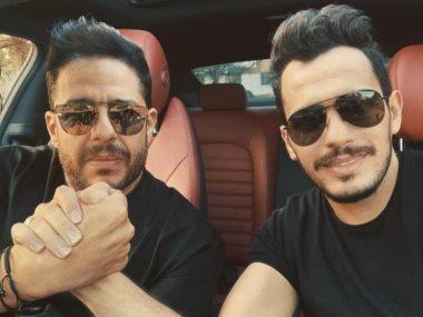 محمد حماقى وأحمد إبراهيم