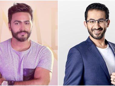 أحمد حلمى وتامر حسنى