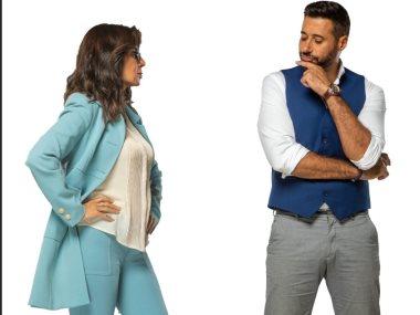 أحمد السعدنى ونجلاء بدر