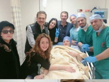 رانيا محمود ياسين بعد العملية