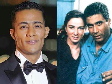 أحمد زكى ونجلاء فتحى ومحمد رمضان