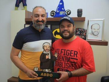 محمد عبد الرحمن والزميل عماد صفوت