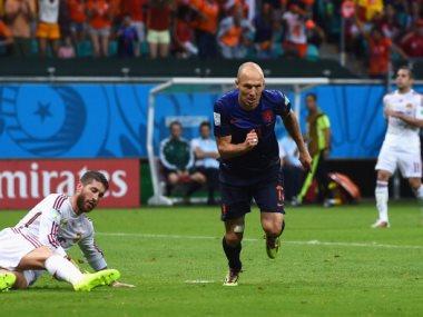 مباراة هولندا وإسبانيا