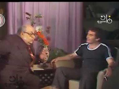 محيى إسماعيل والشاعر صلاح جاهين