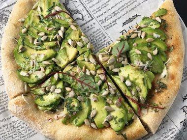 بيتزا الافوكادو