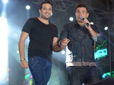 عمرو دياب وتامر حسين
