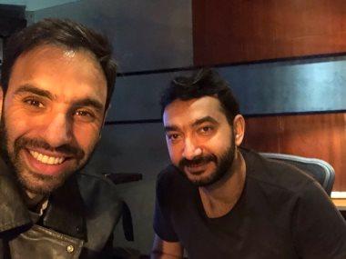 أحمد الشامى ونادر حمدى