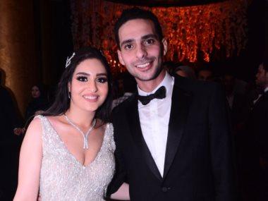 زفاف إبراهيم الجمل وإيمان آل غرو