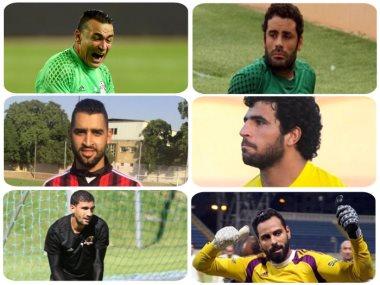 عصام الحضرى وجنش وعامر عامر ومحمد عواد