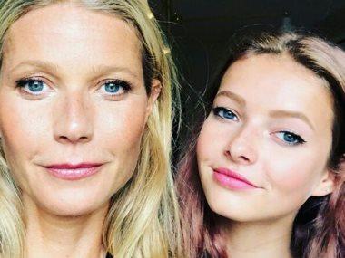 جورينيث بالترو و ابنتها أبل