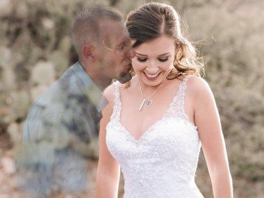 ديبى فى حفل زفافها بالفوتوشوب