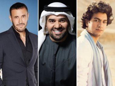 محمد محسن و الجسمى و كاظم الساهر