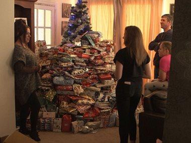 شجرة الميلاد من الهدايا