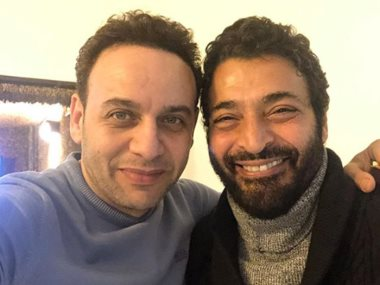 مصطفى قمر وحميد الشاعرى