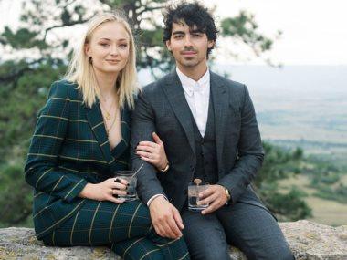 صوفى تيرنر وزوجها