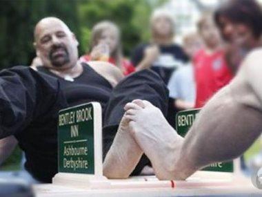 مصارعة القدم
