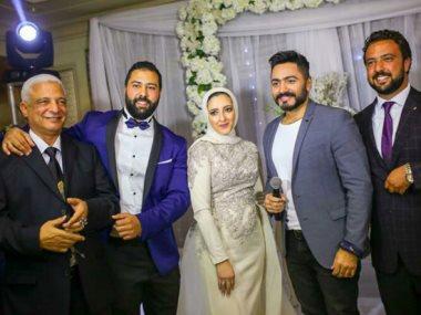 خطوبة رجل الأعمال محمود سراج