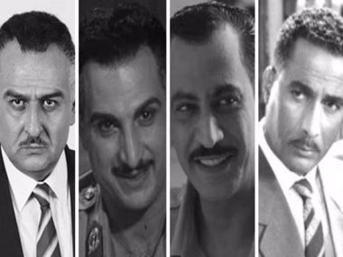 نجموا جسدوا شخصية جمال عبد الناصر