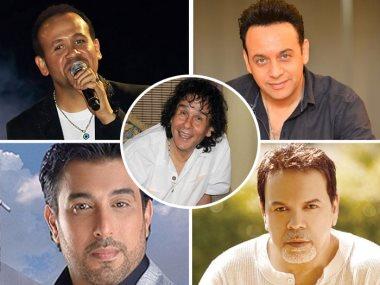 مصطفى قمر و خالد عجاج وعلى حميده وهشام عباس وحسام حسنى