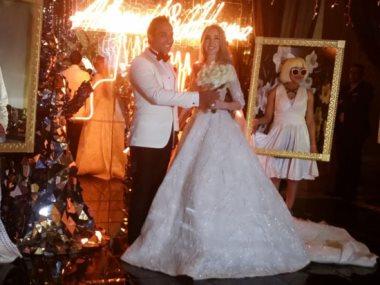 حفل زفاف أحمد فهمى وهنا الزاهد
