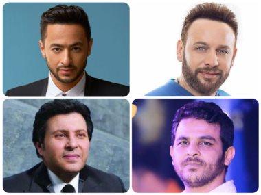 هانى شاكر وحمادة هلال ومصطفى قمر ومحمد رشاد
