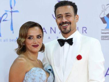 أحمد داوود وزوجته الفنانة علا وشدى