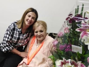 نادية لطفي ودنيا سمير غانم