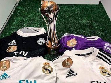 شعار كأس العالم للأندية على قمصان ريال مدريد