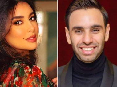 أحمد الشامى و ياسمين صبرى