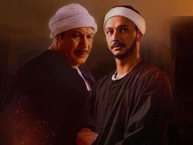 احمد خالد صالح و والده