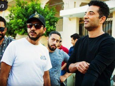 """عمرو سعد فى كواليس مسلسل """"الاختيار"""""""